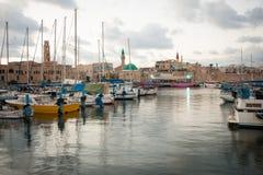 Acre Visserijhaven Royalty-vrije Stock Afbeeldingen