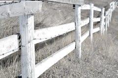 Acreage fence Royalty Free Stock Image