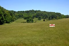 Acreage for Sale royalty free stock images