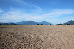 Acreage Tilled and Ready for Planting Stock Photos