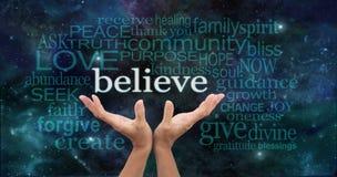 Acredite verdadeiramente