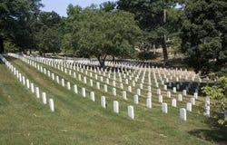 Acres of graves Stock Photos
