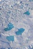 Acric Ocean from air Stock Photos