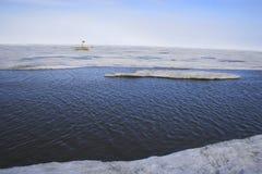 Acric Ozean von der Luft Stockfotos