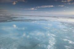Acric Ozean von der Luft Lizenzfreie Stockbilder