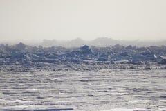Acric Ozean von der Luft Stockbilder