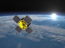 Acrimsat卫星- 3D回报 库存图片