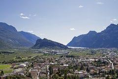 ACRO - Bestimmungsort in Trentino nahe See Garda Lizenzfreie Stockfotos