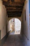 ACRO Calabrese. Alberona. Puglia. Italien. Lizenzfreies Stockfoto