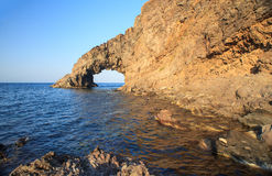 ACRO-dell'Elefante, Pantelleria Stockbild