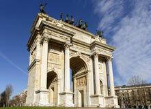 ACRO-della Schrittansicht, Mailand Stockfotos