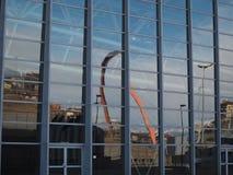 ACRO Olimpico (olympischer Bogen) in Turin Lizenzfreie Stockbilder