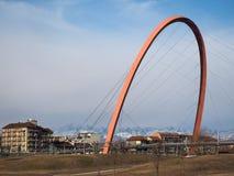 ACRO Olimpico (olympischer Bogen) in Turin Stockfoto