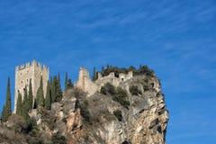 ACRO-Schloss Stockbild