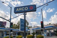 ACRO-Tankstelle Stockfotos