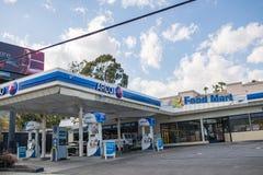 ACRO-Tankstelle Stockbilder