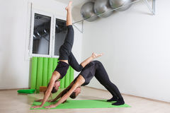 Acro yoga Royalty Free Stock Image