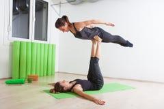 Acro yoga Stock Photos