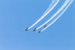 Acrobacia Durban dos aviões Imagens de Stock Royalty Free