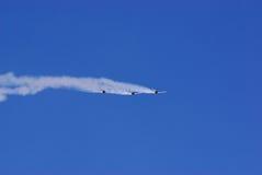 Acrobacias aéreas Fotografía de archivo libre de regalías