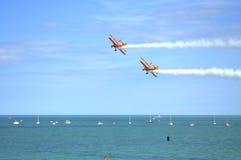 Acrobacias 2016 de Eastbourne Airshow Foto de Stock
