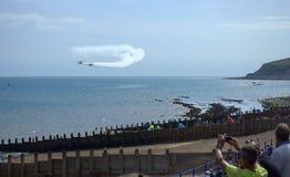 Acrobacias 2016 de Eastbourne Airshow Imagem de Stock Royalty Free