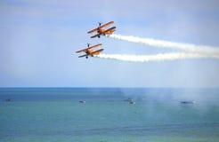 Acrobacias 2016 de Eastbourne Airshow Fotos de Stock