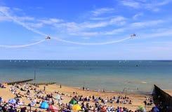 Acrobacias 2016 de Eastbourne Airshow Foto de Stock Royalty Free
