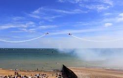 Acrobacias 2016 de Eastbourne Airshow Fotos de Stock Royalty Free