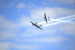 Acrobacias Eastbourne Reino Unido de Airshow Foto de Stock