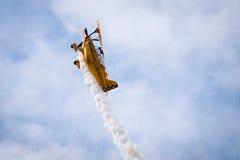 Acrobacy d'air Image libre de droits
