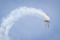 Acrobacy dell'aria Immagine Stock