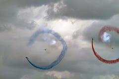 Acrobat air show Royalty Free Stock Photos