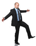 Acrobat businessman Stock Images