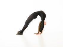 Acrobat girl Stock Photography