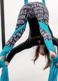 Acrobat at Super Bowl Event. Beautiful young acrobat at Super Bowl Event, Houston, Texas Stock Image