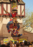 An Acrobat Troupe at the Arizona Renaissance Festival Royalty Free Stock Photo