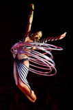 Acrobat woman Royalty Free Stock Image