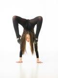 Acrobate féminin photos libres de droits