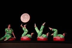 Acrobates chinois photos libres de droits