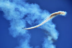 Acrobatic aircraft Royalty Free Stock Photography