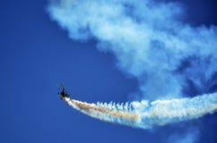 Acrobatic aircraft Stock Image