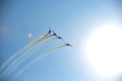 Acrobatic aircraft Royalty Free Stock Photos