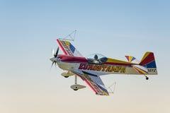 Acrobatic airplane Royalty Free Stock Photos