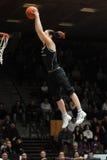 Acrobatic basketball show Royalty Free Stock Photo