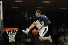 Acrobatic basketball show Royalty Free Stock Photography