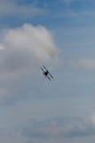 Acrobatic Bi plane Royalty Free Stock Photo