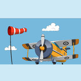 Acrobatic biplane Royalty Free Stock Photos