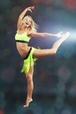 Acrobatic dance Royalty Free Stock Photo