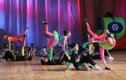 Acrobatic dance Royalty Free Stock Photos